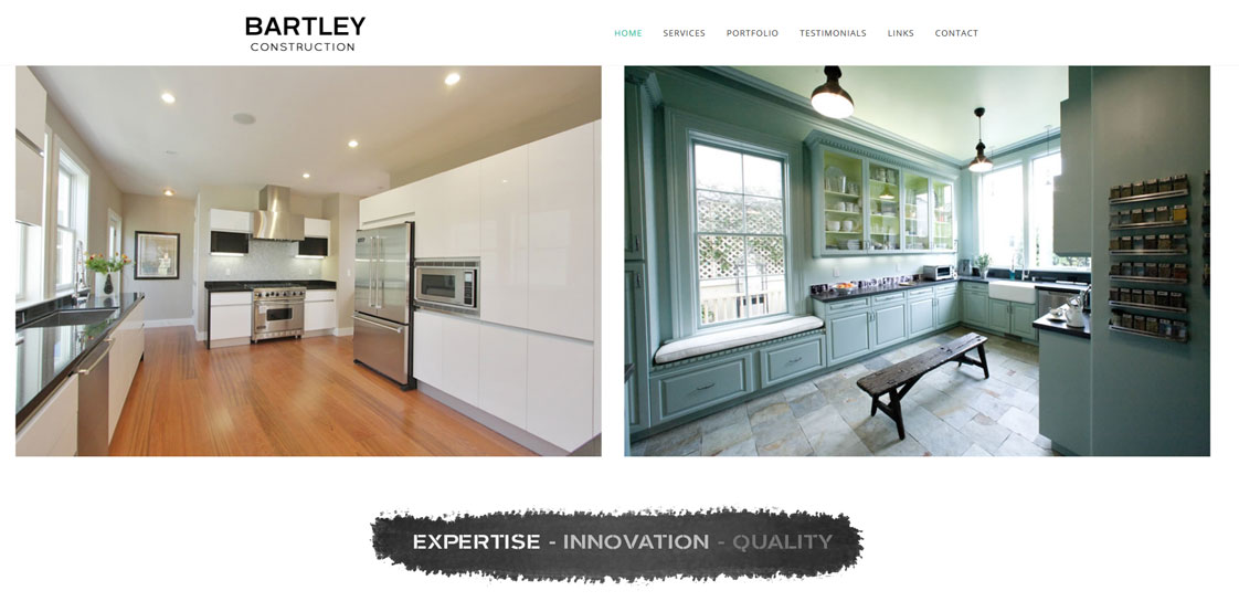 One of a Kind Website Design for Contractors and Remodeling